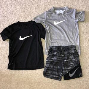3 PC NIKE BUNDLE BOYS 4T